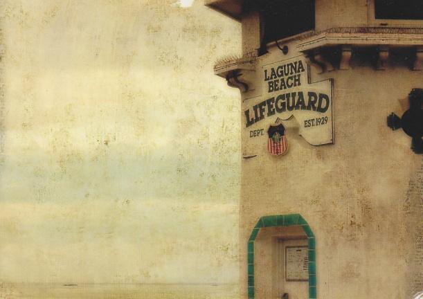 Laguna Beach Lifeguard by Debra Medina debmedina.blogspot.com