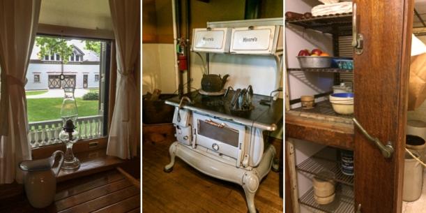 Kitchen triptych